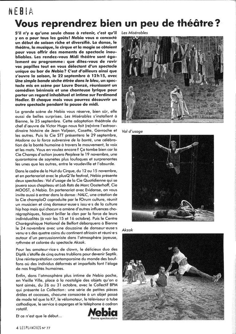 Les Planches Magazine